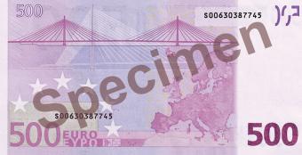 Банкноты Евросоюза
